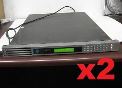 x2 Harmonic Divicom MV100 Encoder Analog SDI Digital Broadcast Video Mpeg-2 VBR