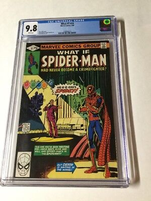 What If? 19 Cgc 9.8 White Pages Spider-man Had Never Been A Crimefighter