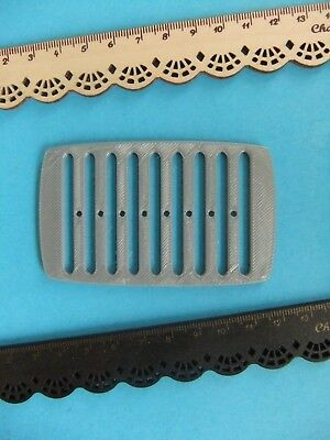 1 Rigid Heddle Loom / Weaving Loom *NEW* made from Eco Plastic in Silver *RARE!*