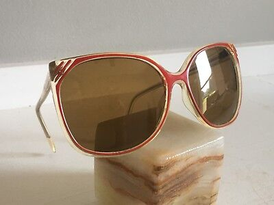 Vintage Red Sunglasses Eyeglasses Glasses 70s 80s Style Retro Old Hollywood