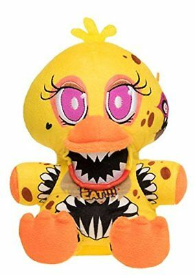 "New Authentic Five Nights At Freddy's Twisted One Chica 8"" Plush Stuffed FNAF"