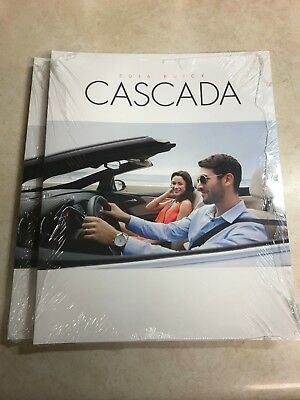 10 total 2016 Buick Cascada 28-page Original Sales Brochure (NEW)