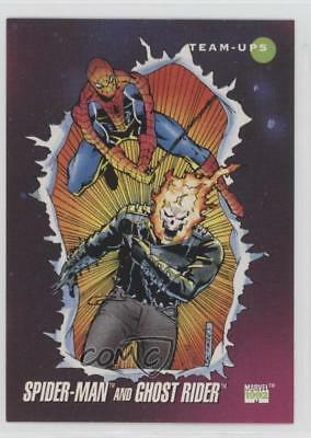 1992 Impel Marvel Universe Series 3 #72 Spider-Man Ghost Rider Card 1md