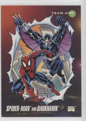 1992 Impel Marvel Universe Series 3 #81 Spider-Man Darkhawk Non-Sports Card 1md