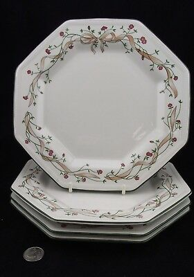 "Set Of 4 Johnson Brothers Eternal Beau   10 1/8"" Dinner Plates  More Lots Avail"