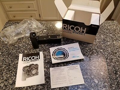 Ricoh XR Winder-1 New Old Stock DEFECTIVE runs without stopping