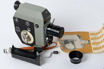 Russian Quarz 5 standard 8mm Cine Camera with accessories