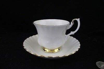 Royal Albert Val Dor D'or Tea Cup And Saucer More Available Just Ask!
