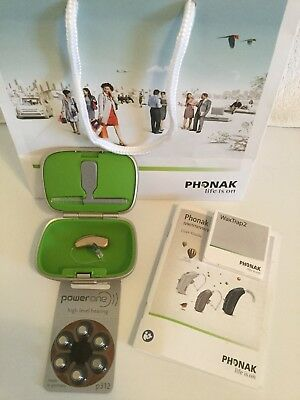 Phonak Audeo V 30 312-NEW-Many Colors-FREE Programming- - L or R Ear- WARRANTY