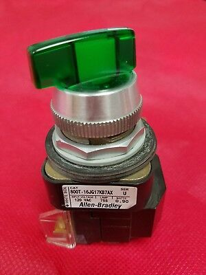Allen Bradley 800T-16JG17KB7AX  3-Position Selector Switch