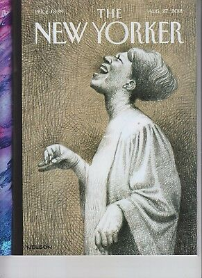 Aretha Franklin The New Yorker Magazine August 27 2018 No Label Queen Of Soul