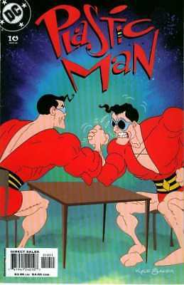 Plastic Man (2004 series) #10 in Near Mint minus condition. DC comics