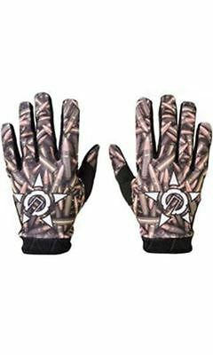 Unit Peace Youth Riding Gloves Brass