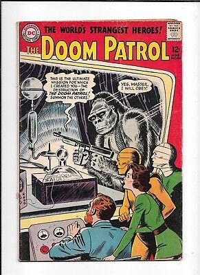 The Doom Patrol #86 ==> Vg 1St Issue Of Their Own Series Dc Comics 1964