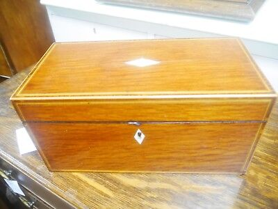 partride wood tea caddy