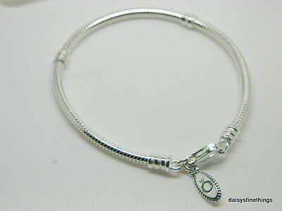 New/tags  Authentic Pandora Silver Bracelet Lobster Clasp #590700Hv 21Cm/8.3In