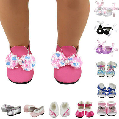 1 Pair  Doll Shoes Sandals Boots Fits 18 Inch Girl 43cm Doll Accessorie