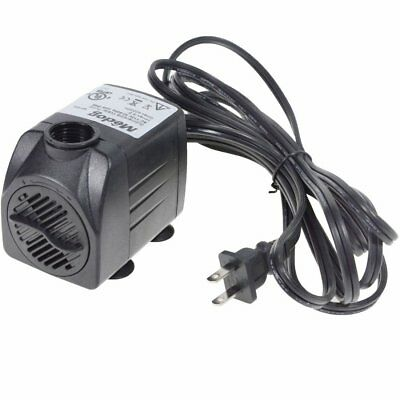 400GPH Submersible Water Pump Aquarium Pumps For Hydroponics Fountain Statuary