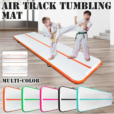 10x3FT Airtrack Inflatable Air Track Floor Home Gymnastics Tumbling Mat GYM US