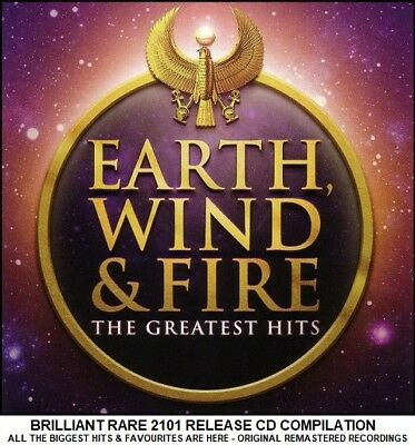 Earth Wind & Fire - Best Greatest Hits Collection - RARE 2010 Disco Funk Soul CD