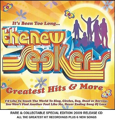 The New Seekers - The Very Best Greatest Hits Collection RARE 2009 CD - 70's Pop