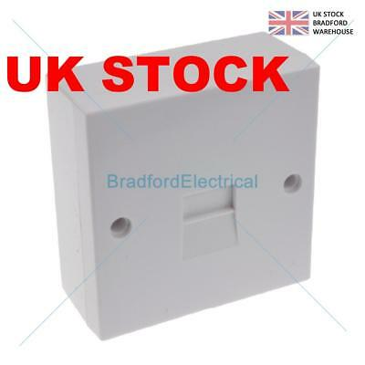Secondary Slave Bt Telephone Extension Socket 2/3A Idc With Back Box 69Mm