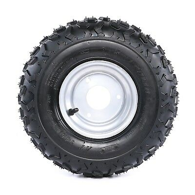 "145/70- 6"" inch Wheel Rim + Tyre Tire For 50 110cc Quad Dirt Bike ATV Buggy"