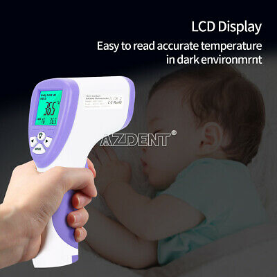 Medical Non-Contact Infrared Thermometer Gun LCD Digital Forehead℃/℉ Thermometer