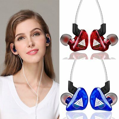 HIFI In-Ear Super Bass Stereo Earphone Earbuds Headphone Sports Headset With Mic