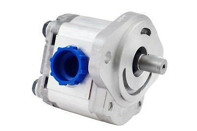"Hydraulic Gear Pump 2-11 GPM 3/4"" Keyed Shaft SAE A-2 Bolts CW Aluminium NEW"