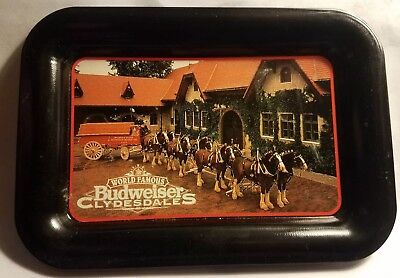 budweiser clydesdale tip tray 1996