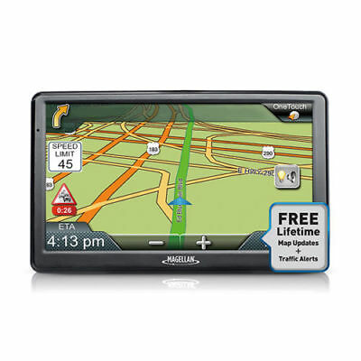 "Magellan RoadMate 9612T-LM 7"" Portable Touchscreen GPS Navigation System"