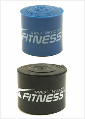 xFitness Compression Floss Band 7' Strap For CrossFit - Set of 2 Medium & Heavy