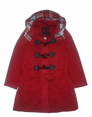 Yoki Big Girls Red Fleece Toggle Jacket Size 4 5/6 6X 7 8/10 12/14 16