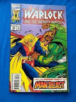 Warlock And The Infinity Watch 28 Vf 1991 Aftermath Of Infinity Gauntlet Sale