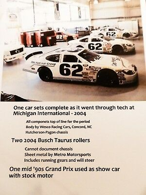 NASCAR: 2004 Ford Taurus Busch Grand National Team Assets
