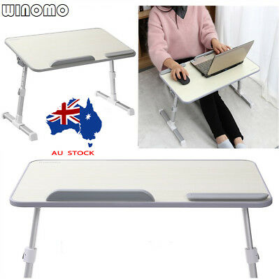 Portable Adjustable Laptop Tray Foldable Notebook Study Standing Bed Side Desk