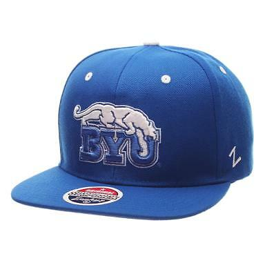 36a53104d1a ZEPHYR MEN S BYU Cougars Dh Zwool Fitted Hat -  16.85