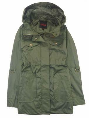 Yoki Girls Olive Green Anorak Jacket Size 4 5/6 6X 7 8/10 12/14 16