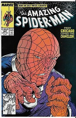 1988 The Amazing Spider-Man Issue #307 Marvel Comic Book Bag/board Spiderman
