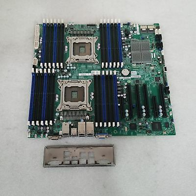 Supermicro X9DR3-LN4F Dual Socket 2011 DDR3 Motherboard with I/O Shield