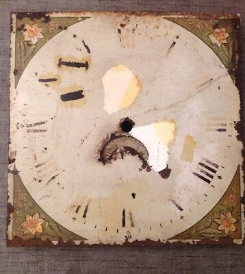 """Grandfather Clock Dial With Date Wheel 12""""X12"""""""