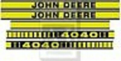 To fit John Deere 4040 tractor decal set