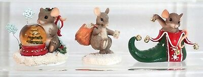 Charming Tails - Holiday lot of 3 Figures