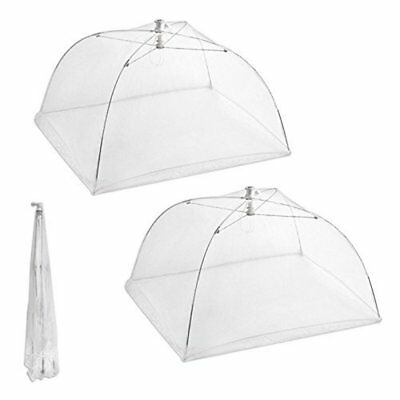 "Kitchen Food Cover Picnic Barbecue Party Fly Mosquito Mesh Net Tent 16"" L x16"" W"