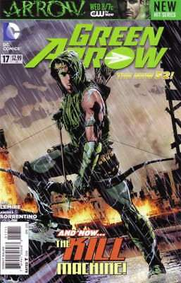 Green Arrow (2011 series) #17 in Near Mint + condition. DC comics