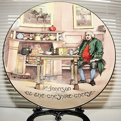 "Royal Doulton Seriesware Large Charger ""Dr John At The Cheshire Cheese"" D6377"