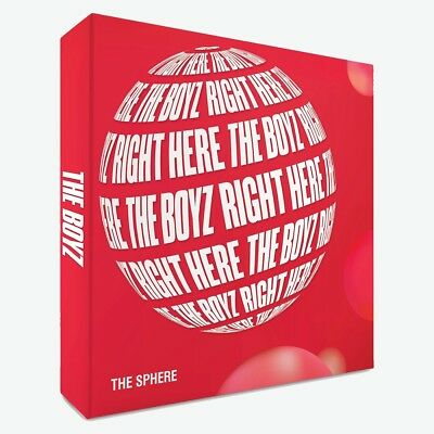 THE BOYZ - THE SPHERE [REAL ver.] CD+Photocard+Folded Poster+Tracking no.