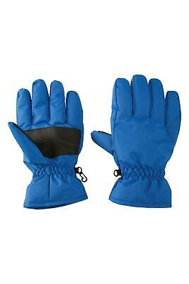 Mountain Warehouse Kids Gloves Snowproof with Fleece lined and Cuffs - S/M/L/XL