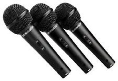 Behringer ULTRAVOICE XM1800S Dynamic Cardioid Vocal Microphones (3 pack)